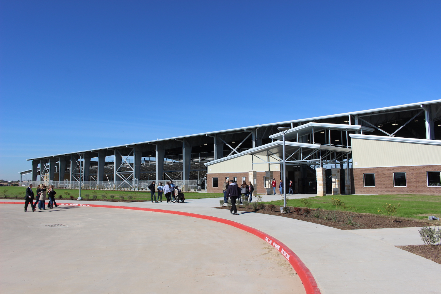 Katy ISD unveils new agriculture science center for livestock show, rodeo Photo - Click Here to See